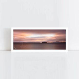 Original Photo Print of 'Lake Taupo Island' No Frame
