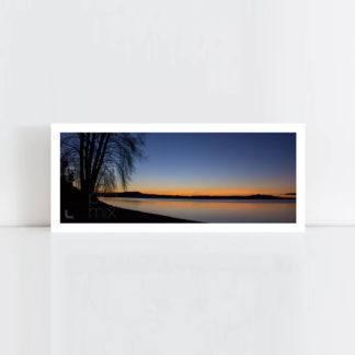 Original Photo Print of 'Lake Taupo Rising' No Frame