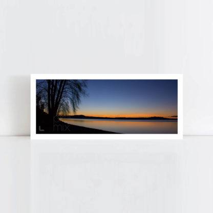 Original Photo Print of 'Lake Taupo Rising' No Frame