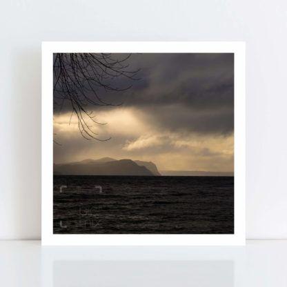 Original Photo Print of 'Lake Taupo Storm' No Frame