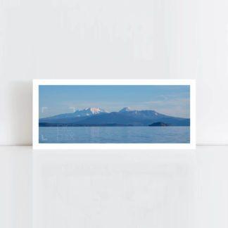Original Photo Print of 'Mount Ruapehu' No Frame