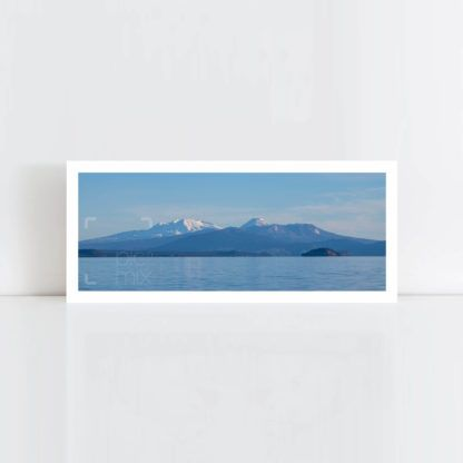 Original Photo Print of 'Mount Ruapehu' No Frame