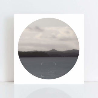 An Original Circle Photo Print of 'Whangaparoa Evening' No Frame