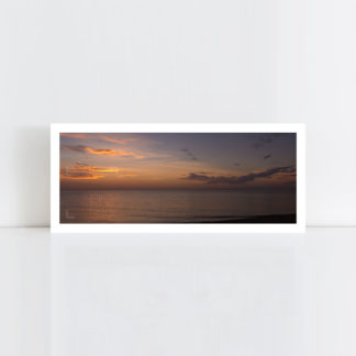 A panorama original photo print of 'Evening Glory' No Frame