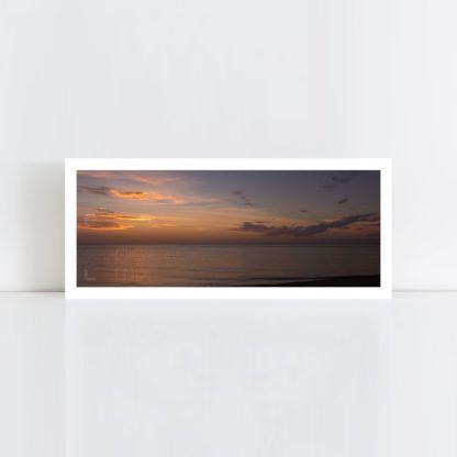 A panorama original photo print of 'Evening Glory' No Frame