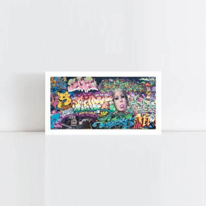 Original Photo Print of a Graffiti 1 Panorama No Frame
