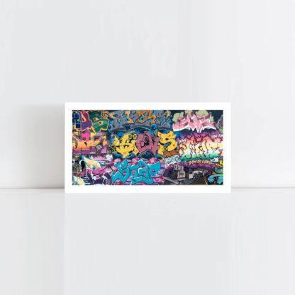 Original Photo Print of a Graffiti 2 Panorama No Frame