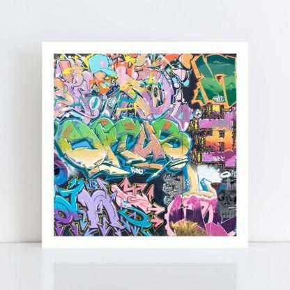 Original Photo Print of 'Graffiti 2' no frame