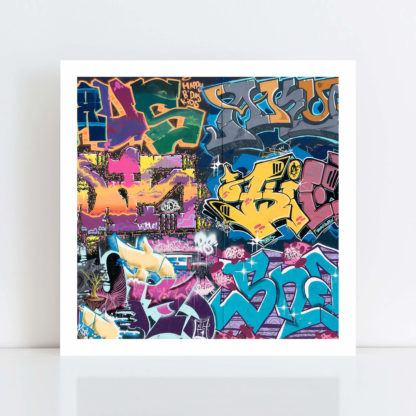 Original Photo Print of 'Graffiti 3' no frame