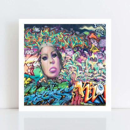 Original Photo Print of 'Graffiti 5' no frame
