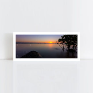 A panorama original photo print of 'Mangrove Sunset' No Frame