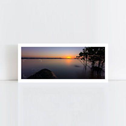 A panorama original photo print of 'Mangrove Sunset' No Frame