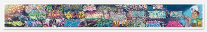 Original Photo Print of 'Graffiti Panorama Large' No Frame